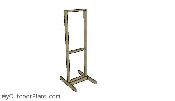 Shooting Target Stand Designs : Shooting target stand plans myoutdoorplans free