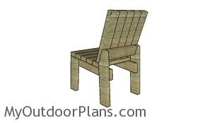 Simple 2x4 chair plans