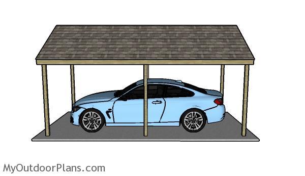 Simple Carport Plans Myoutdoorplans Free Woodworking