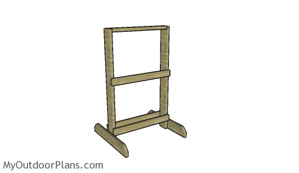 Target stand plans myoutdoorplans free woodworking