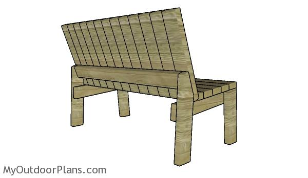 Astounding 2X4 Garden Bench Plans Myoutdoorplans Free Woodworking Creativecarmelina Interior Chair Design Creativecarmelinacom