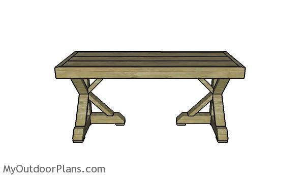 Trestle Desk Plans