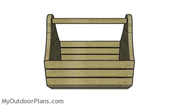 Wood garden basket plans