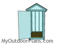 4x6 Gable Shed Plans