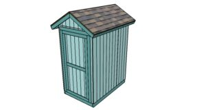 4×6 Shed Plans