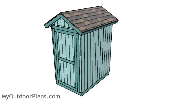 4x6 Shed Plans