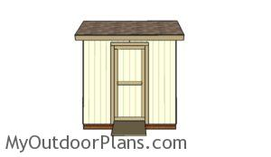6x8 Gable Shed Plans