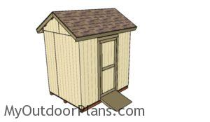 6x8 Shed Plans