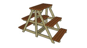 Large Plant Stand Plans