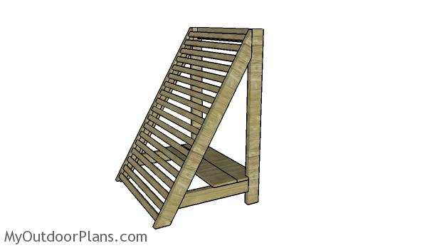 Angled Vegetable Trellis Plans