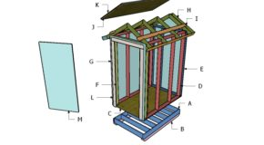 4×6 Gable Shed Roof Plans