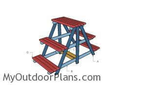 Building a large plant stand