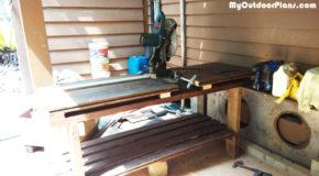 DIY Cut Off Saw Table