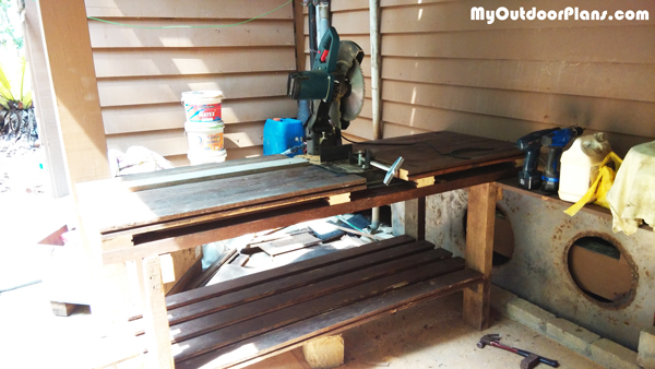 DIY Cut Off Saw Table