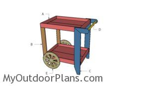 Building a tea cart