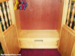 Building-an-American-doll-Armoire