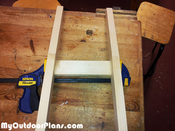 Building-the-legs-for-the-kids-chair