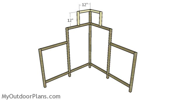 Building the top frames