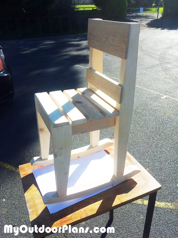 DIY Kids Rocking Chair Plans