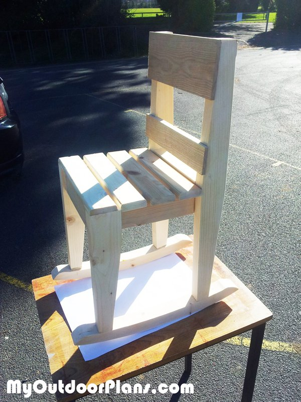Diy Kids Rocking Chair Plans Myoutdoorplans Free