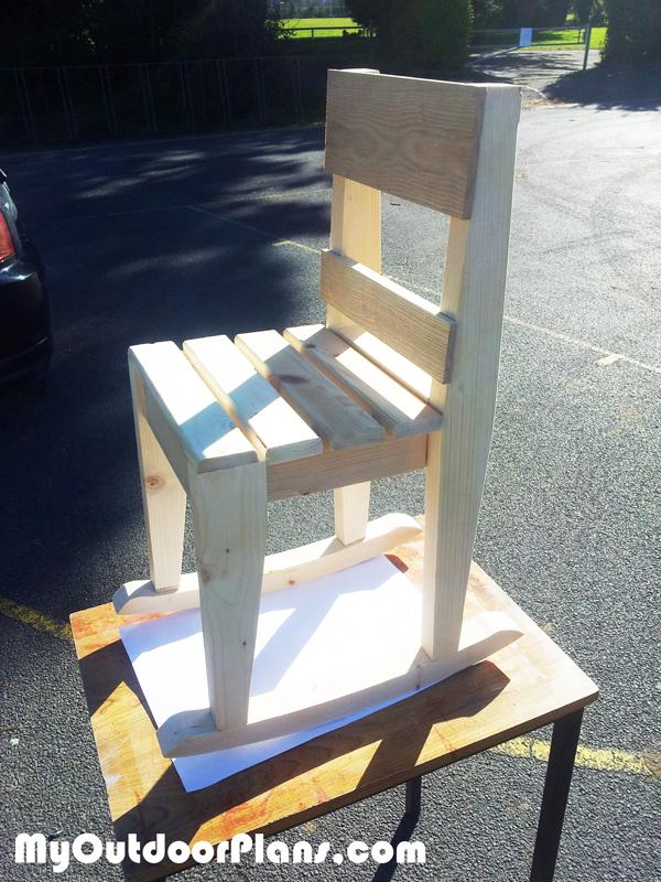 DIY Kids Rocking Chair Plans MyOutdoorPlans Free Woodworking Plans And Pr