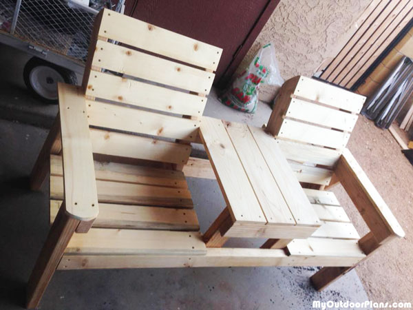 DIY Large Jack and Jill Chair Set