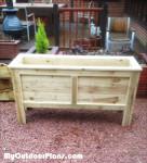 DIY Rectangular Planter Box