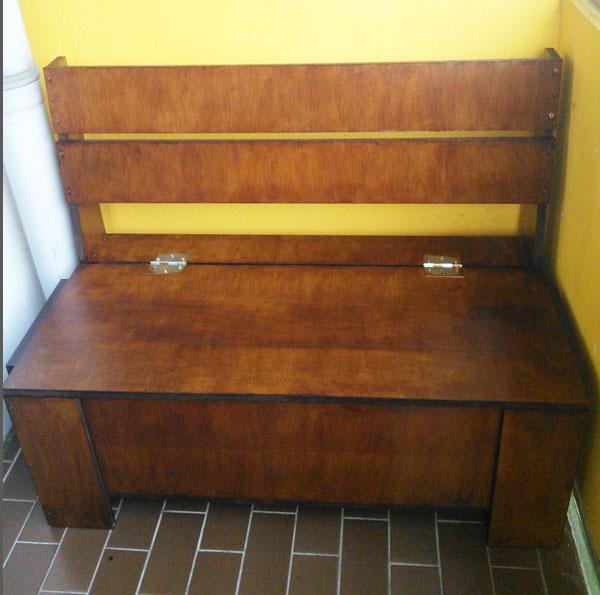 DIY Outdoor Storage Bench | MyOutdoorPlans | Free ...