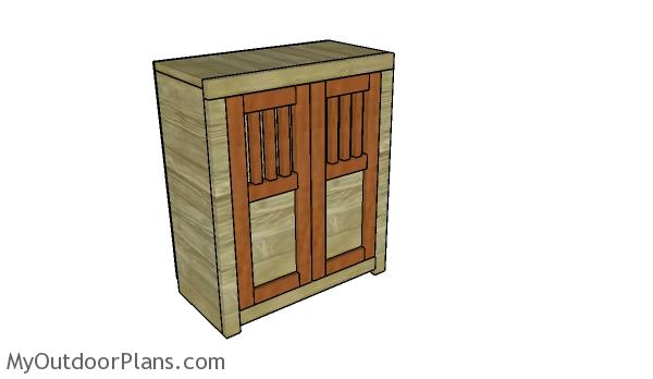 Genial Doll Armoire Plans