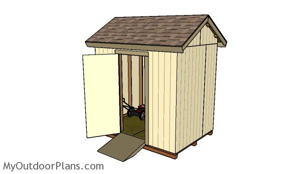 Free 6x8 Shed Plans