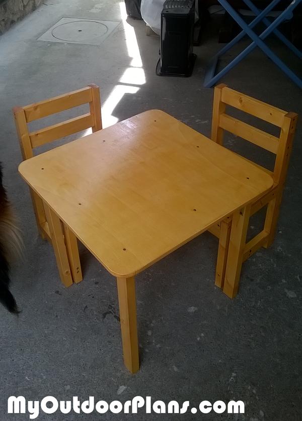 Diy Kids Table Myoutdoorplans Free Woodworking Plans