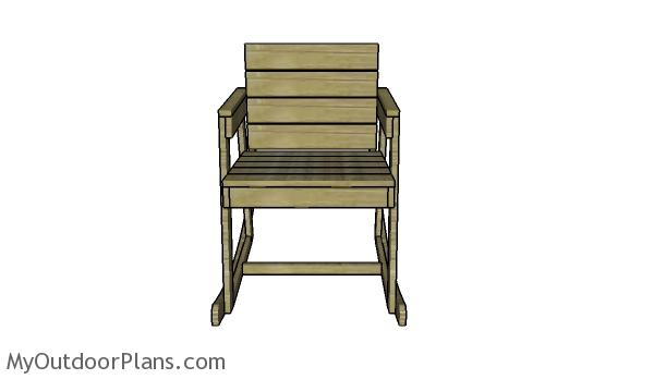 Rocker chair plans