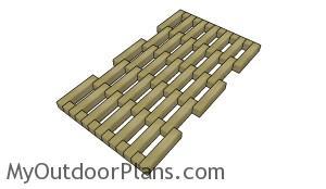 Wood Door mat Plans