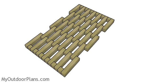 Wood Door mat Plans