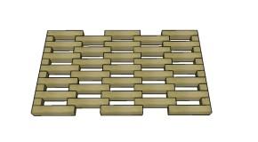 Wooden Doormat Plans