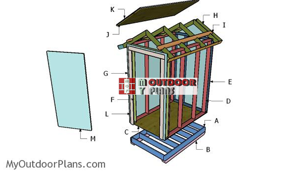 Building-a-4x6-storage-shed