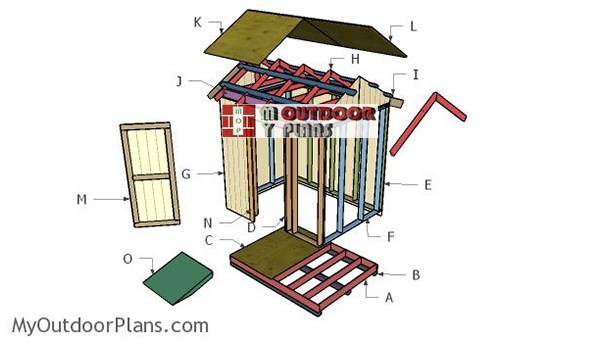 Building--a-6x8-shed