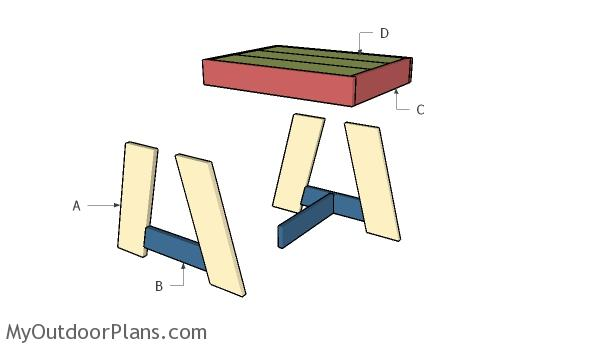 Building a patio side table