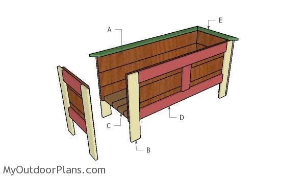 Building a wood planter box