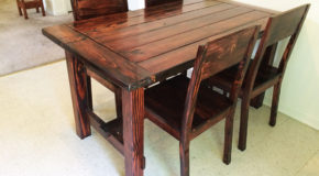 DIY Kitchen Chair