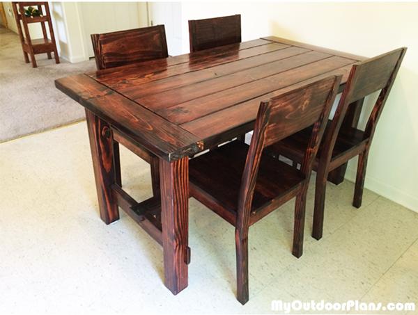DIY Kitchen Chair | MyOutdoorPlans | Free Woodworking Plans ...