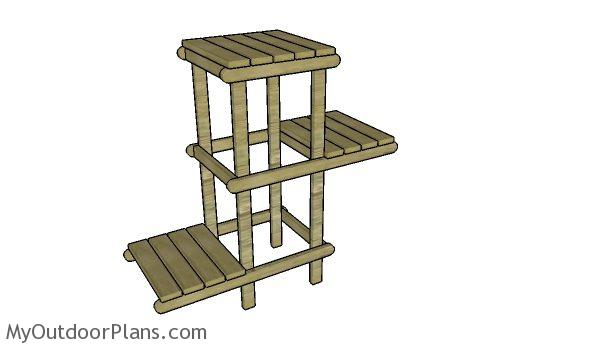 diy plant stand plans myoutdoorplans free woodworking plans and projects diy shed wooden. Black Bedroom Furniture Sets. Home Design Ideas