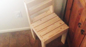 DIY Kids Time Out Chair