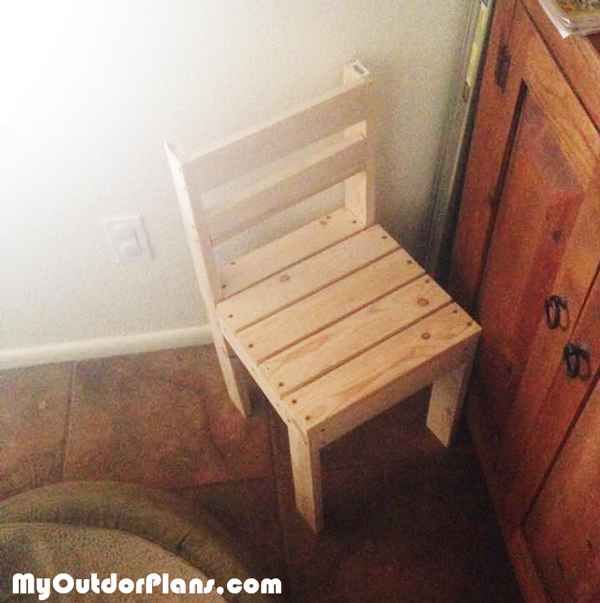Diy Kids Time Out Chair Myoutdoorplans Free