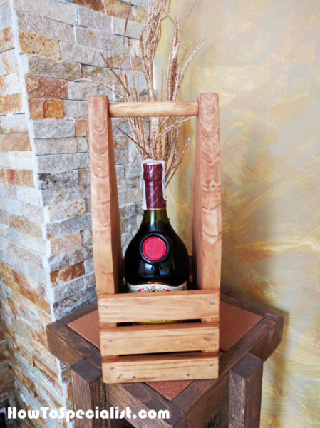 DIY Wine Caddy | MyOutdoorPlans | Free Woodworking Plans and Projects, DIY Shed, Wooden ...