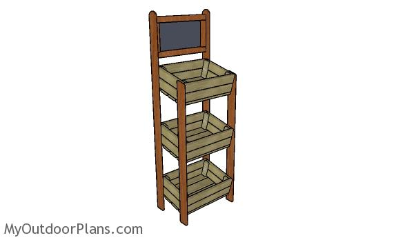 Display Crate Stand Plans