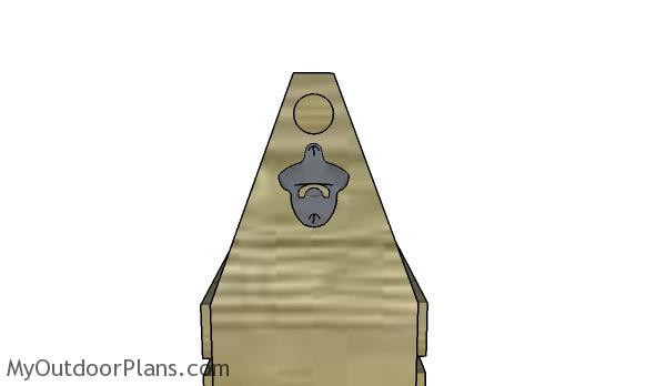 Fittle the bottle cap opener