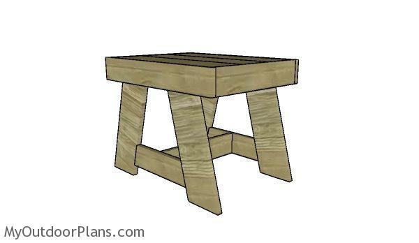 Patio Side Table Plans Myoutdoorplans
