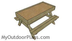 Sandbox table plans