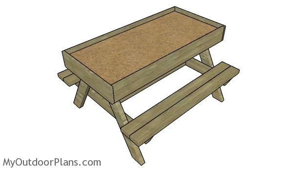 Sandbox table plans